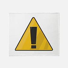 Traffic Sign Throw Blanket