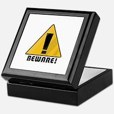 Beware Keepsake Box
