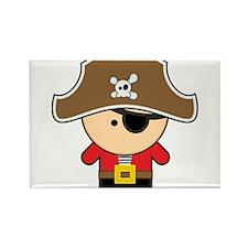Cute Pirate kids Rectangle Magnet