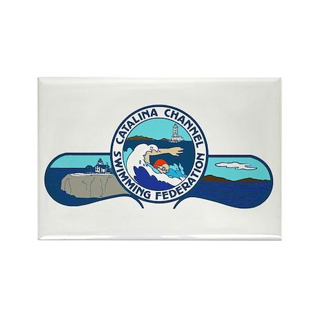 Swim Catalina Rectangle Magnet