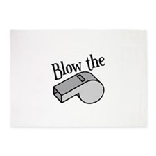 Blow the Whistle 5'x7'Area Rug