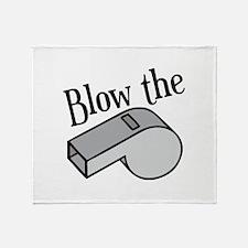Blow the Whistle Throw Blanket