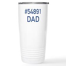 Number 54891 DAD Ceramic Travel Mug