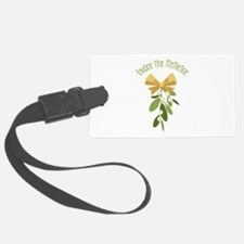 Mistletoe Branch Christmas Decoration Luggage Tag