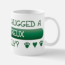 Hugged Chartreux Small Small Mug