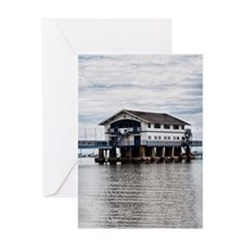 Boathouse 4 Greeting Card