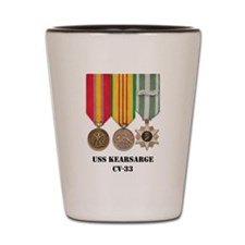 USS Kearsarge Shot Glass