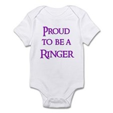 Proud to be a Ringer 10 Infant Bodysuit