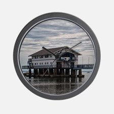 Boathouse 3 Wall Clock