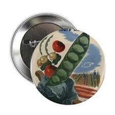 "world war 2 poser art 2.25"" Button (100 pack)"