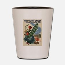 world war 2 poser art Shot Glass