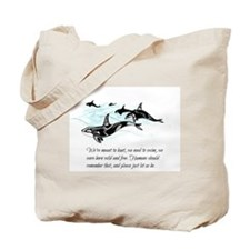 Orca's Tale Tote Bag
