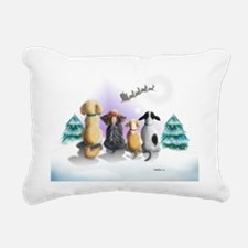 The Magical Night Variat Rectangular Canvas Pillow