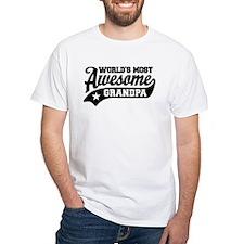 World's Most Awesome Grandpa Shirt
