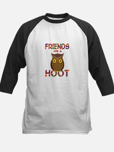Friends are a Hoot Kids Baseball Jersey