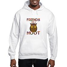 Friends are a Hoot Jumper Hoody