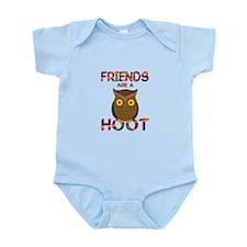 Friends are a Hoot Infant Bodysuit