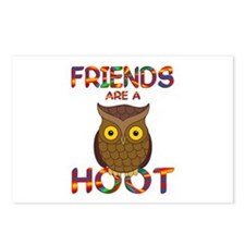 Friends are a Hoot Postcards (Package of 8)
