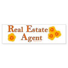 Real Estate Agent Bumper Bumper Sticker