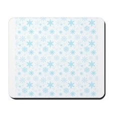 White Winter Mousepad