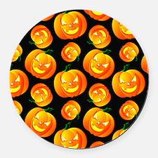 Scary Halloween Pumpkin, Jack-O-Lantern, Black, Or