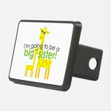 Big Sister To Be Giraffes Hitch Cover