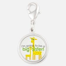 Big Sister To Be Giraffes Charms