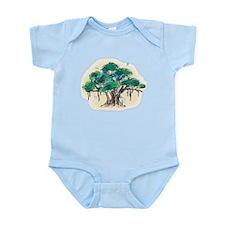 Cute Bodhi tree Infant Bodysuit