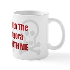 Mess With Angora Coffee Mug