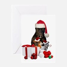 Christmas Cane Corso Greeting Cards