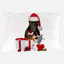 Christmas Cane Corso Pillow Case