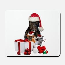 Christmas Cane Corso Mousepad