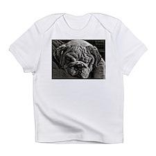 English Bulldog Puppy Art Infant T-Shirt
