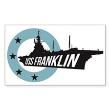 USS Franklin 4 Decal