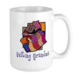 Quilter Large Mugs (15 oz)