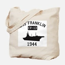 USS Franklin 1 Tote Bag