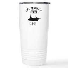 USS Franklin 1 Travel Mug