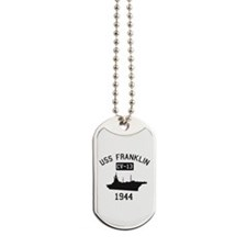 USS Franklin 1 Dog Tags