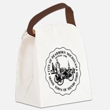 Homwtown of Henry Ford Canvas Lunch Bag