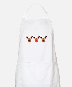Red Nosed Reindeer Friends Apron