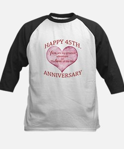45th. Anniversary Baseball Jersey