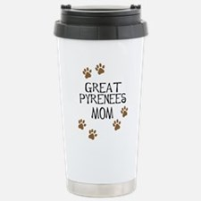 Great Pyrenees Mom Travel Mug