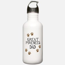 Great Pyrenees Dad Water Bottle