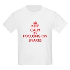 Keep Calm by focusing on Snares T-Shirt