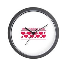 Happy Valentines Wall Clock