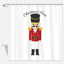 Christmas Hero Shower Curtain