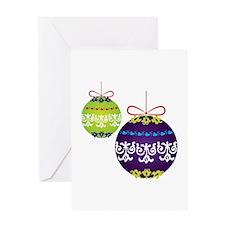 Xmas Decorations Greeting Cards