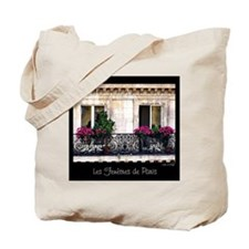 Windows Of Paris-Railing Tote Bag