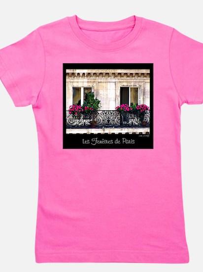 Windows Of Paris-Railing Girl's Tee
