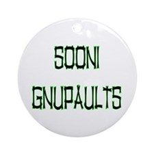 SOONI GNUPAULTS Round Ornament